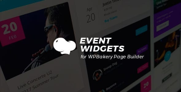 Event Widgets for WPBakery Page Builder (Visual Composer)